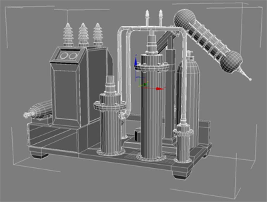 机械 royalty-free 3d model - Preview no. 4
