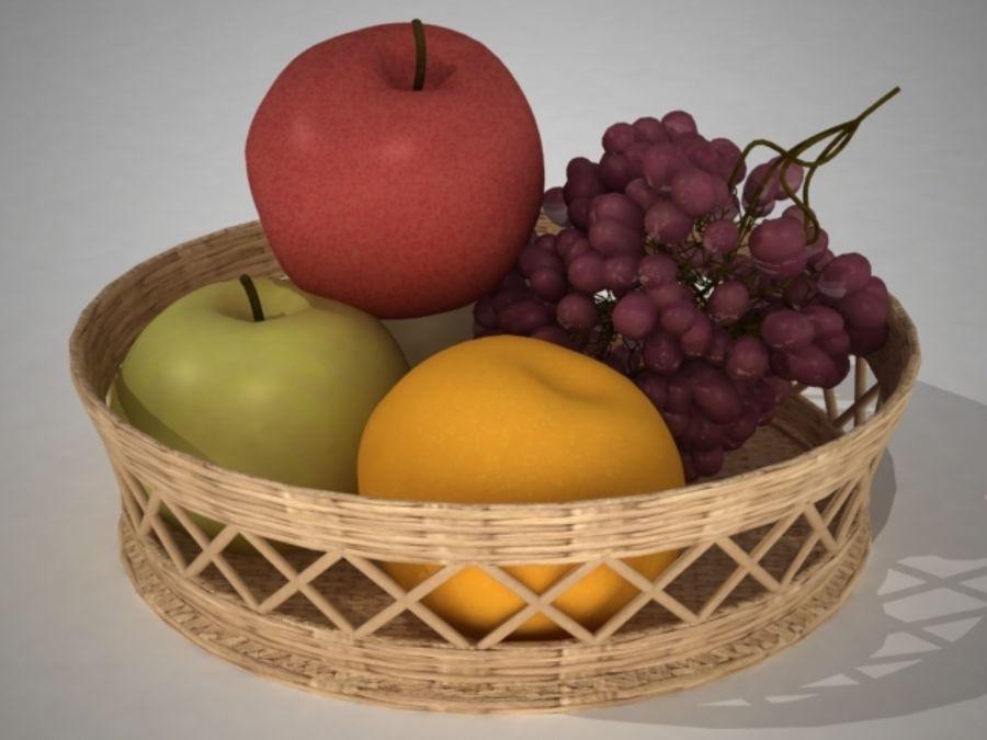 Fruit Fruta royalty-free 3d model - Preview no. 3