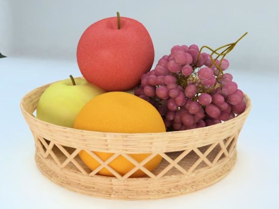 Fruit Fruta royalty-free 3d model - Preview no. 1