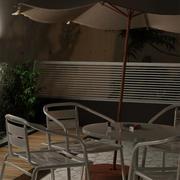 Umbrella Sombrilla 3d model