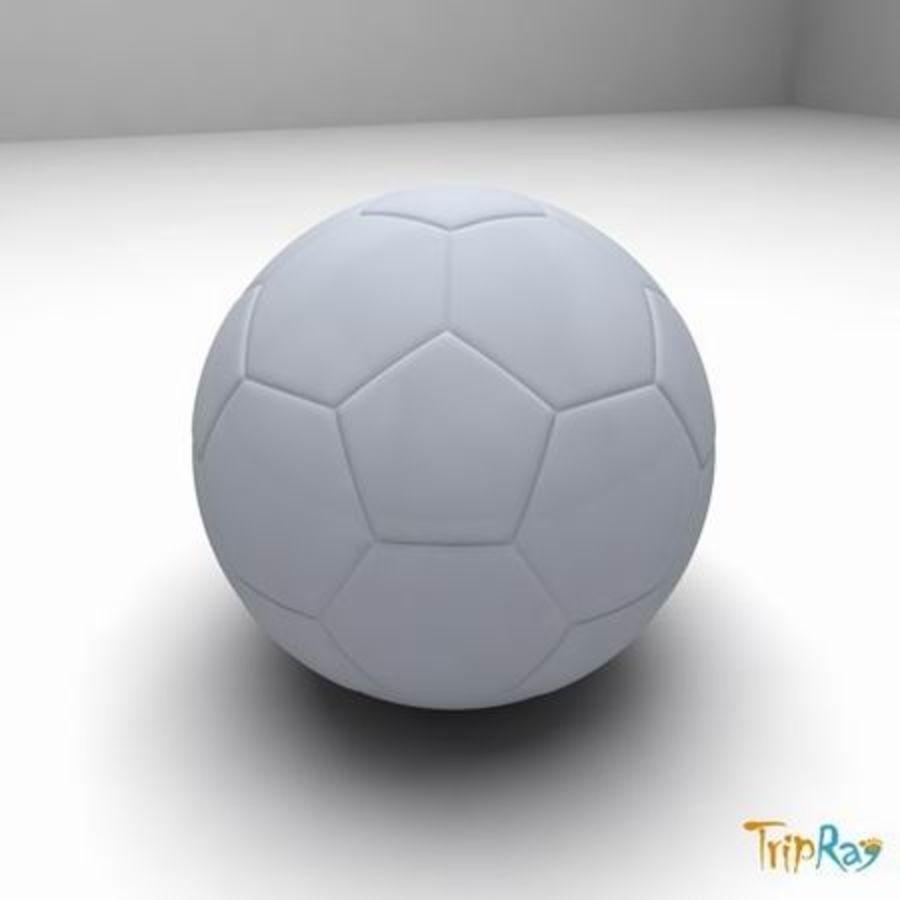 Fútbol americano royalty-free modelo 3d - Preview no. 2