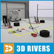 Pit stop przez 3DRivers 3d model