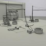 Пит-стоп от 3DRivers 3d model