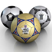 Football Soccerball 3d model