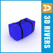 Large gym bag by 3DRivers 3d model
