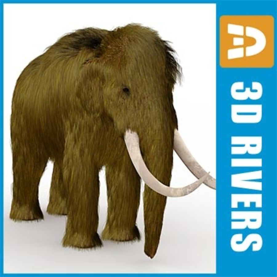 Mammoth by 3DRivers royalty-free 3d model - Preview no. 1