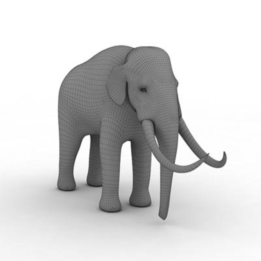 Mammoth by 3DRivers royalty-free 3d model - Preview no. 3