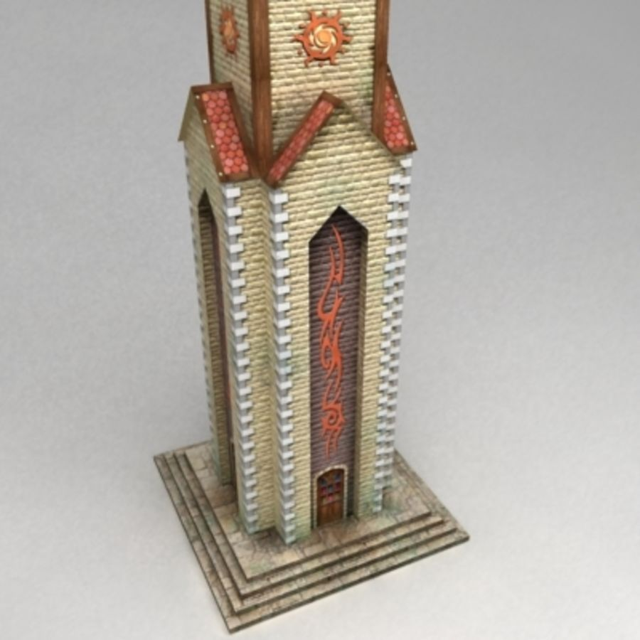 Magic_tower.max royalty-free 3d model - Preview no. 3