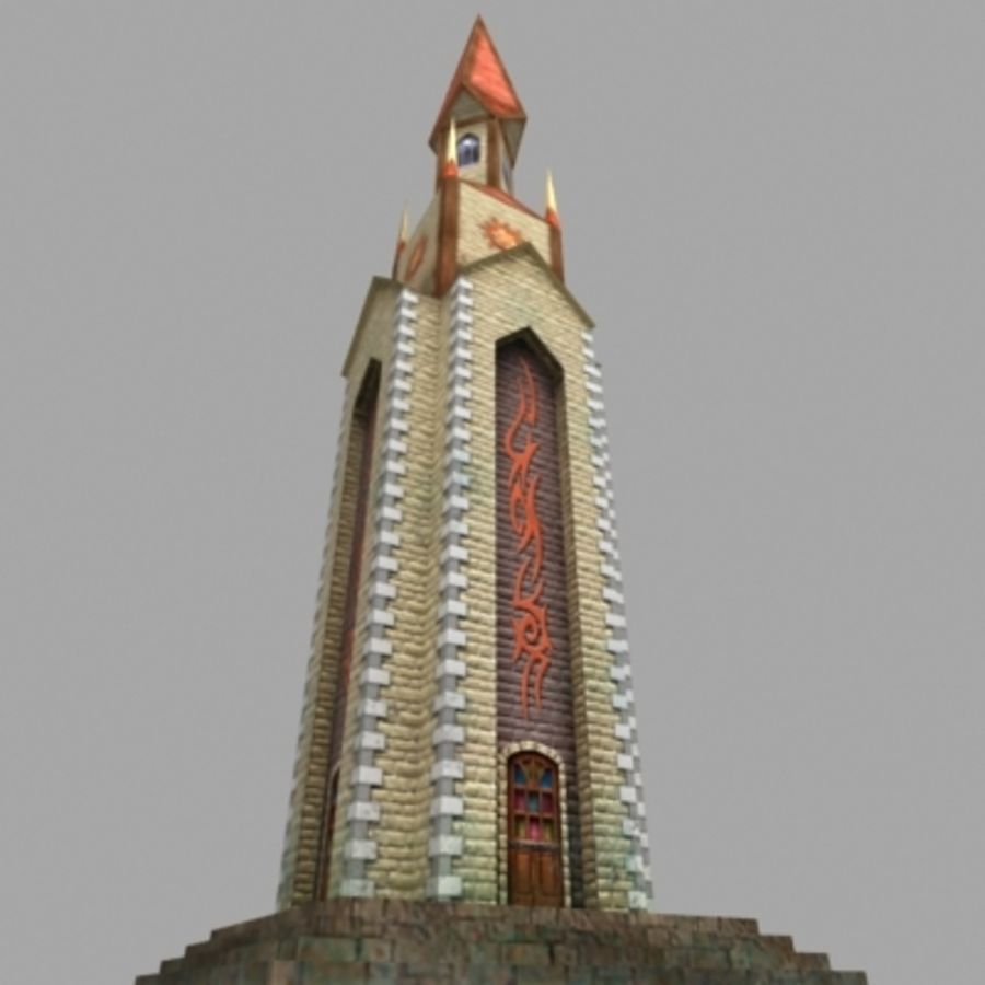 Magic_tower.max royalty-free 3d model - Preview no. 5