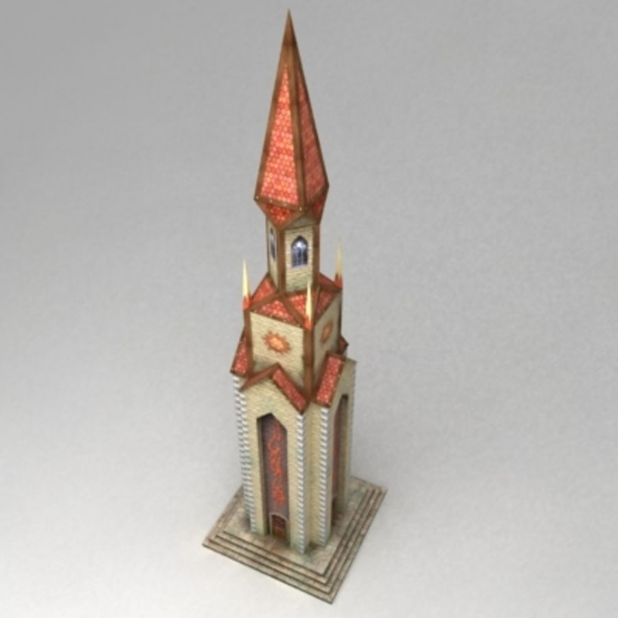 Magic_tower.max royalty-free 3d model - Preview no. 1