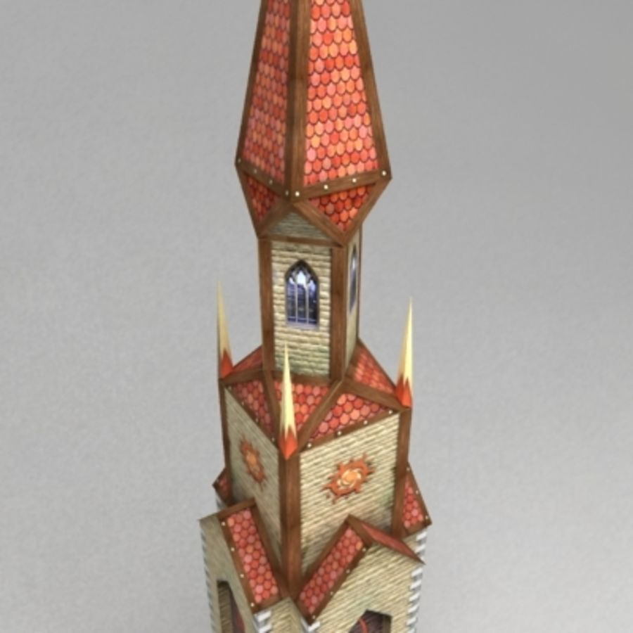 Magic_tower.max royalty-free 3d model - Preview no. 4
