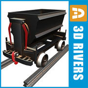 3DRivers의 Minecart 01 3d model