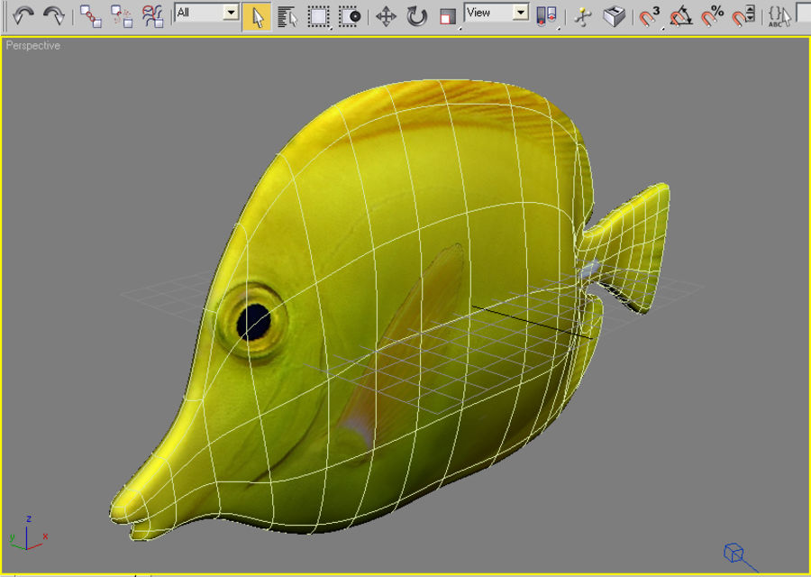 Fish_01 royalty-free 3d model - Preview no. 4