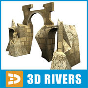 Three arch by 3DRivers 3d model