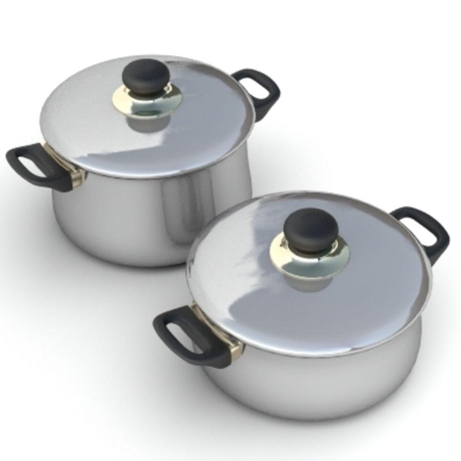 Pot royalty-free 3d model - Preview no. 1