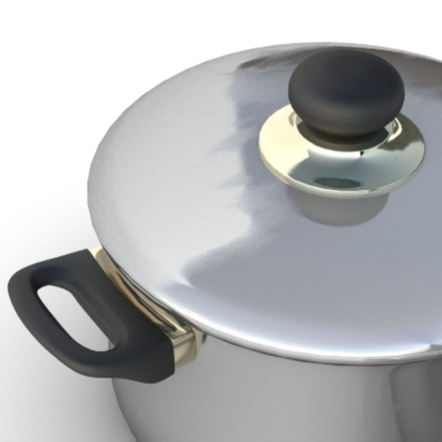 Pot royalty-free 3d model - Preview no. 2
