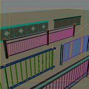 Railings Collection.zip 3d model