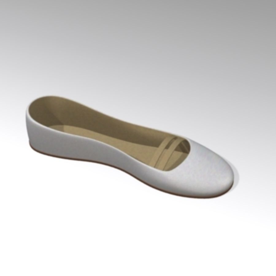 shoes8 royalty-free 3d model - Preview no. 2