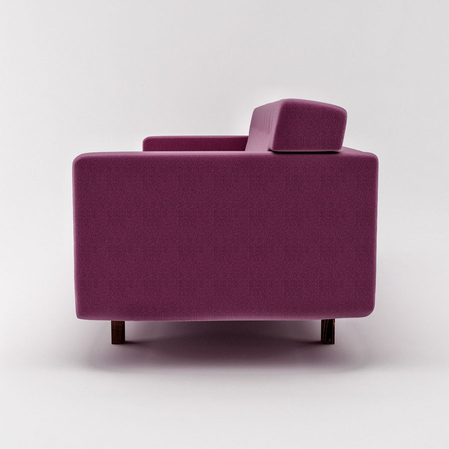 Couch 02 royalty-free 3d model - Preview no. 5
