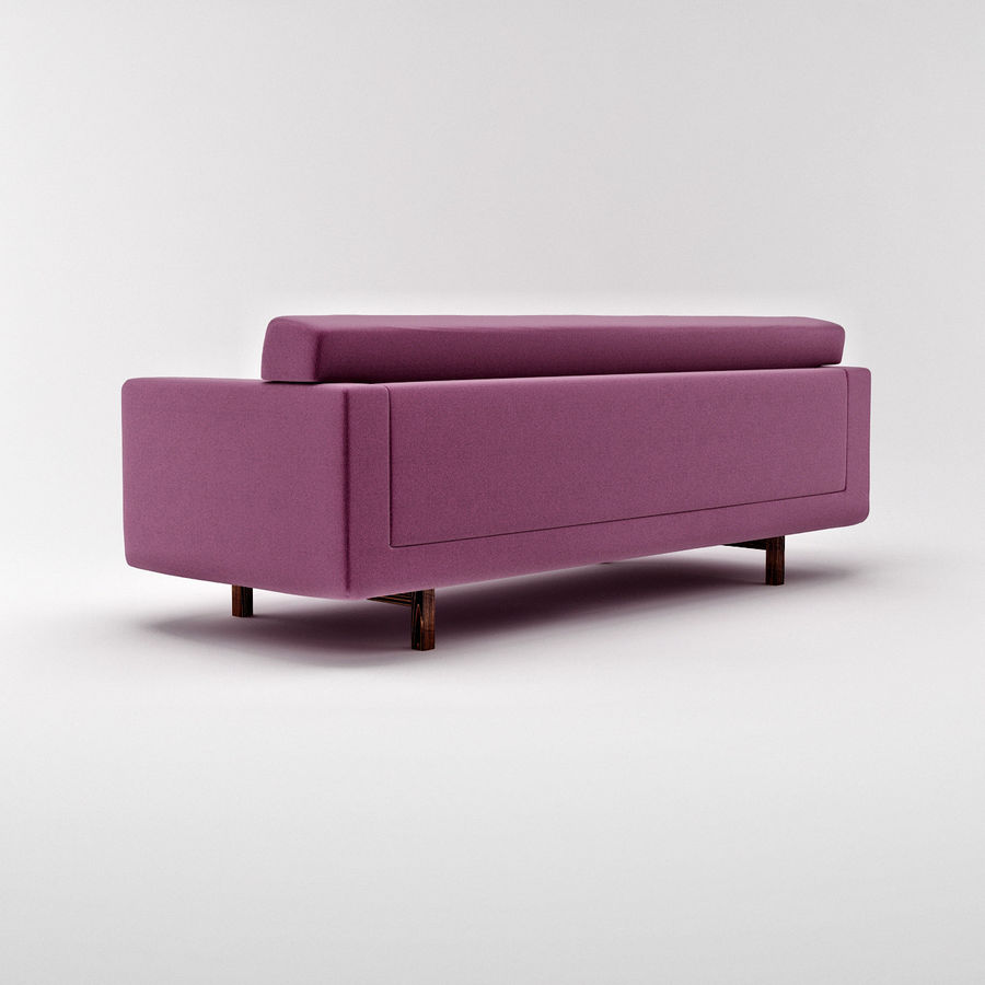Couch 02 royalty-free 3d model - Preview no. 3