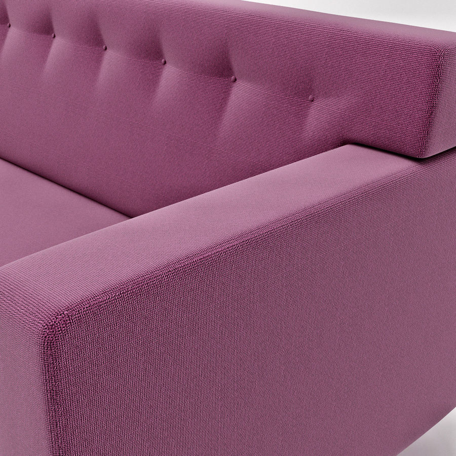 Couch 02 royalty-free 3d model - Preview no. 6