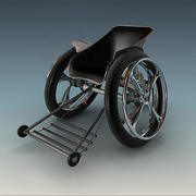 tekerlekli sandalye 3d model