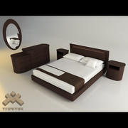 Bedroom - europeo - eros 3d model