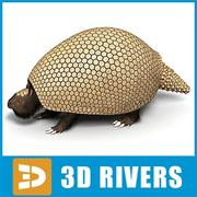Glyptodon by 3DRivers 3d model
