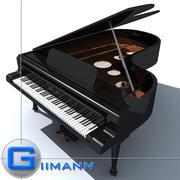 3D三角钢琴 3d model