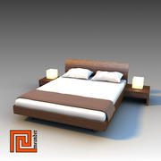 "Bed  ""VIRGOLA"" 3d model"