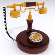 Antique Style Telephone.max 3d model
