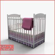 Baby Crib 3d model