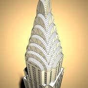 Chrysler building by dddfantast 3d model