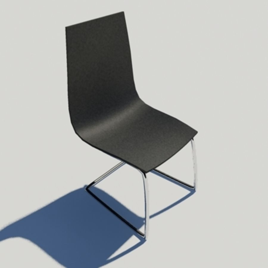 Office Chair 04 royalty-free 3d model - Preview no. 1