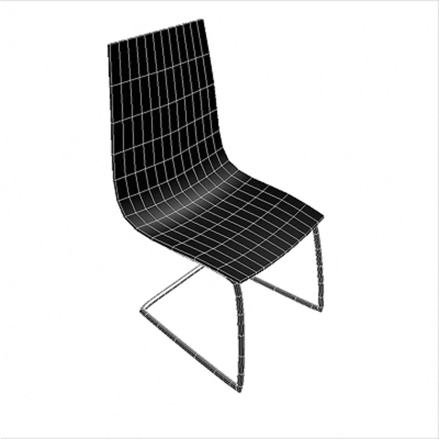 Office Chair 04 royalty-free 3d model - Preview no. 2