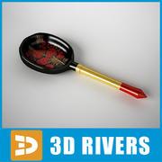 Cuchara Khohloma por 3DRivers modelo 3d