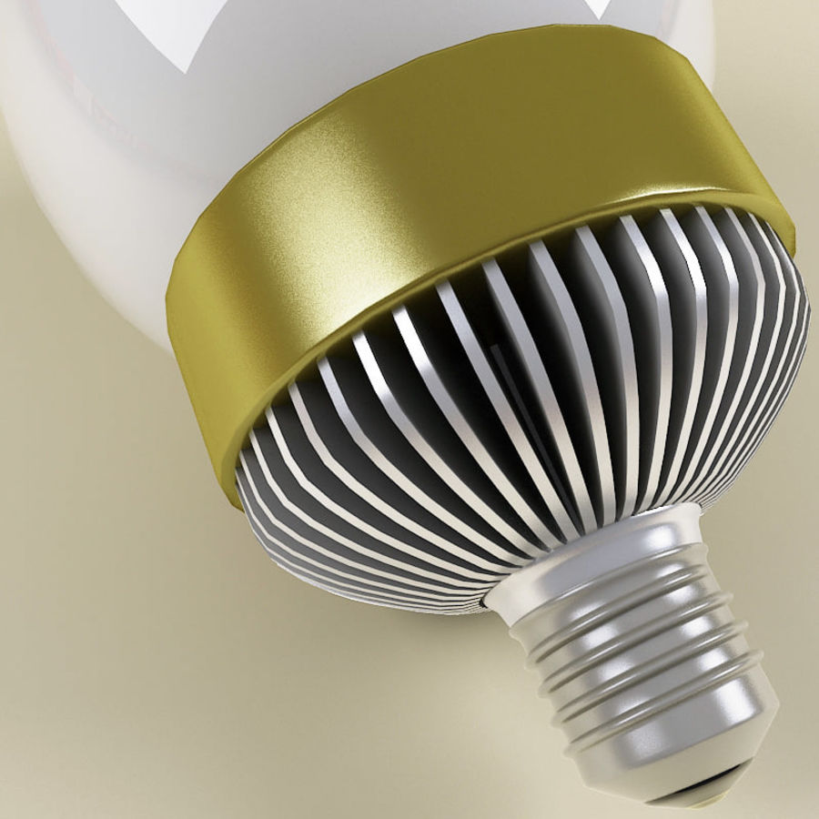 Fluorescent Lamp V4 royalty-free 3d model - Preview no. 4