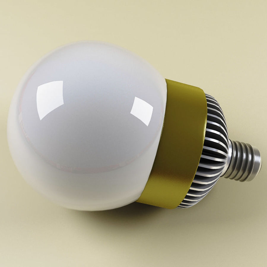 Fluorescent Lamp V4 royalty-free 3d model - Preview no. 2