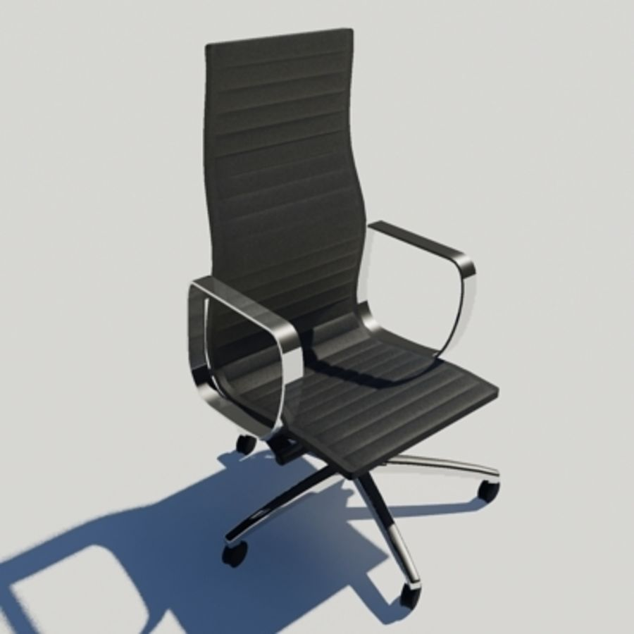 Office Chair 02 royalty-free 3d model - Preview no. 1