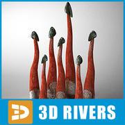 Stinkhorn élégant par 3DRivers 3d model