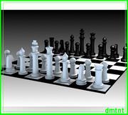 chess_set 3d model