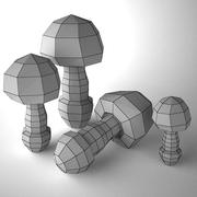 Fly Agaric by 3DRivers 3d model
