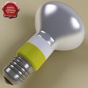 Fluorescent Lamp V2 3d model