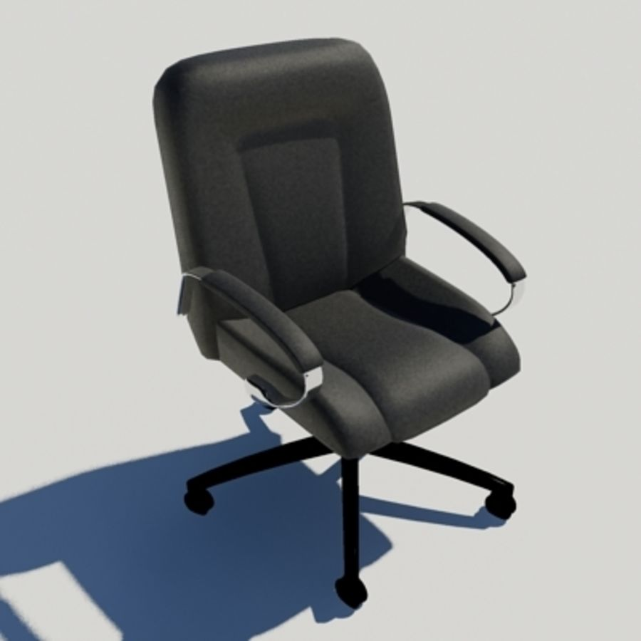 Office Chair 03 royalty-free 3d model - Preview no. 1