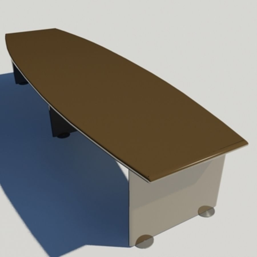 Office Desk 03 royalty-free 3d model - Preview no. 1