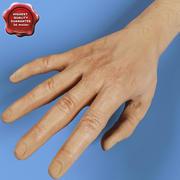 Mão 3d model