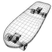 Skate board V2 3d model