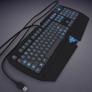 Keyboard Razer (max7) 3d model