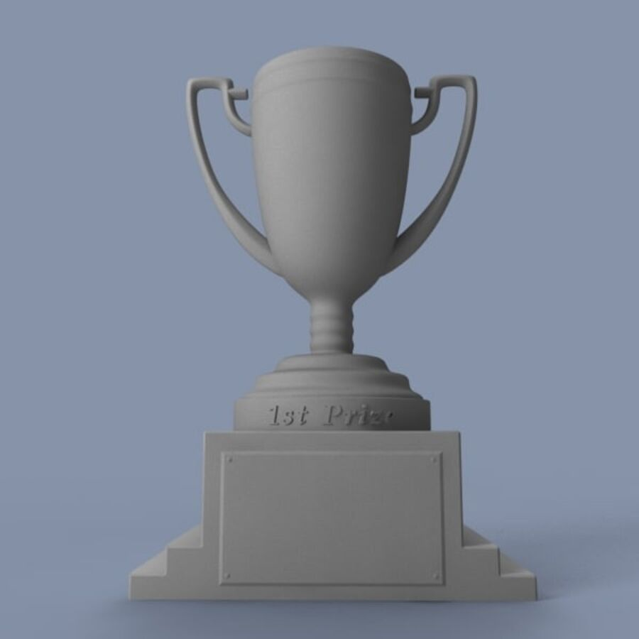 Trophy royalty-free 3d model - Preview no. 8