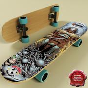 Skate board V3 3d model